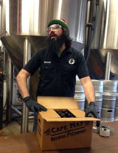 CMBC's Master Brewer Brian HInk