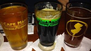 L to R: Blonde Ale, King Porter Stomp, Steve's Biscuits & Honey ESB