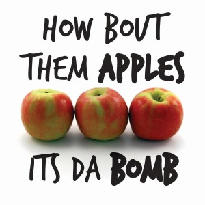 how bout them apples bomb graphic
