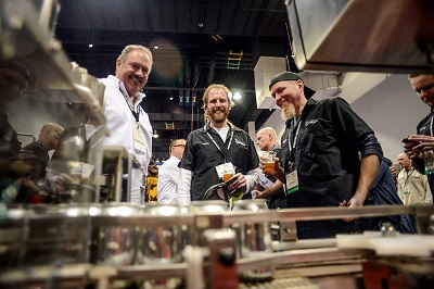 """""""CBC has a wonderful, very high energy with so many people seeing old friends and meeting new ones, shopping for equipment, learning growing, sharing info, and tasting great beer,"""" says Barb Photo credit: Brewers Association"""