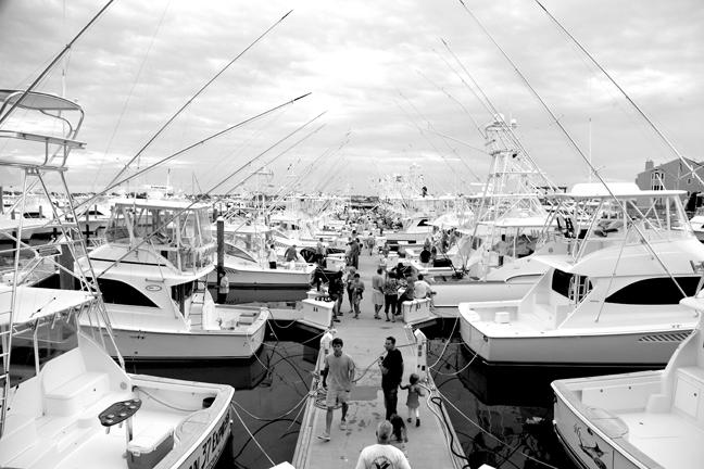 Preparations are almost complete for the 24th Annual Mid-Atlantic $500,000. Photo courtesy Exit Zero magazine.