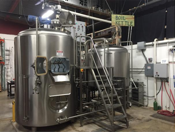 Ain't she a beaut? Our 15-bbl system, for sale now.