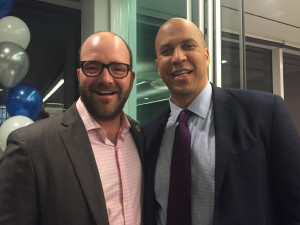 Ryan, with Senator Cory Booker in DC