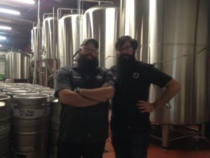 Jimmy and Brian, our Beautiful Bearded Beer Nerds