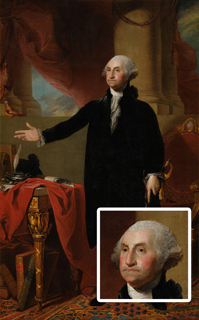 """""""Look what you've done.<br>I'm not angry, just disappointed."""" -- GW's face"""