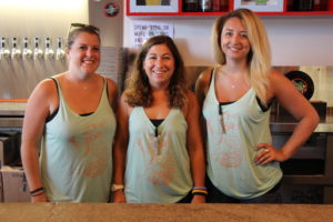 Join these lovely ladies -- Emily, Maddie, and Courtney -- as a member of the Brew Crew!