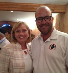 Lt. Governor Kim Guadagno with Ryan